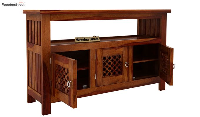 Hagborg Sideboard (Honey Finish)-4