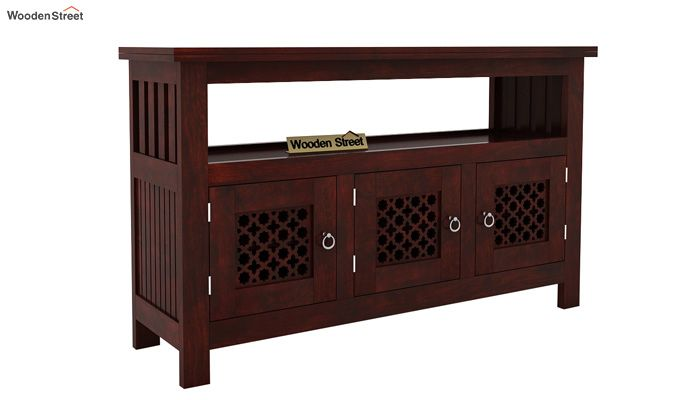 Hagborg Sideboard (Mahogany Finish)-1