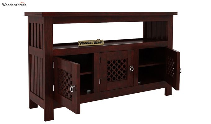 Hagborg Sideboard (Mahogany Finish)-3