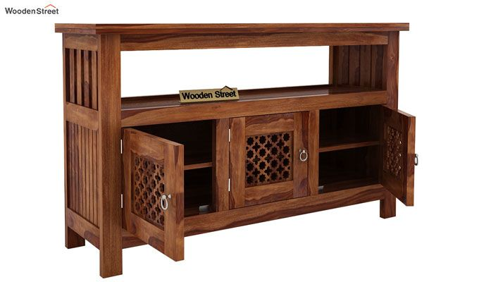 Hagborg Sideboard (Teak Finish)-4