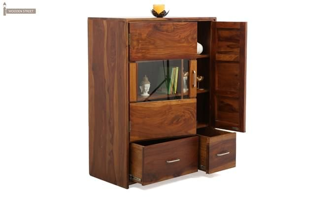 Hodor Cupboard (Teak Finish)-1