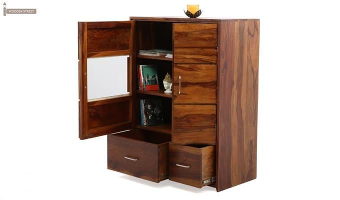 Hodor Cupboard (Teak Finish)-2