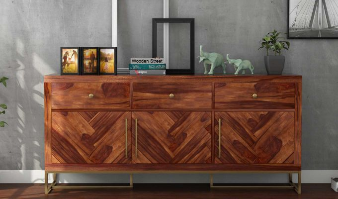 Jett Sideboard (Teak Finish)-2