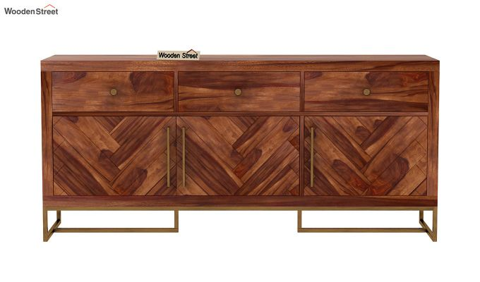 Jett Sideboard (Teak Finish)-4