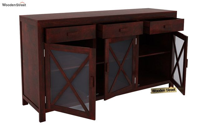 Kerry Sideboard (Mahogany Finish)-4