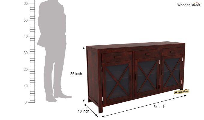 Kerry Sideboard (Mahogany Finish)-6