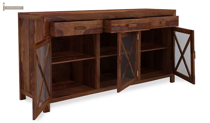 Kerry Sideboard (Teak Finish)-3