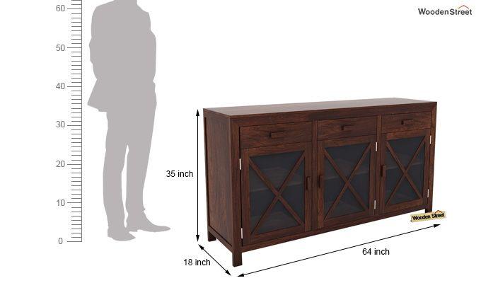 Kerry Sideboard (Walnut Finish)-6