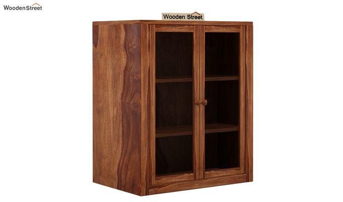 Leven Kitchen Cabinet (Teak Finish)-4
