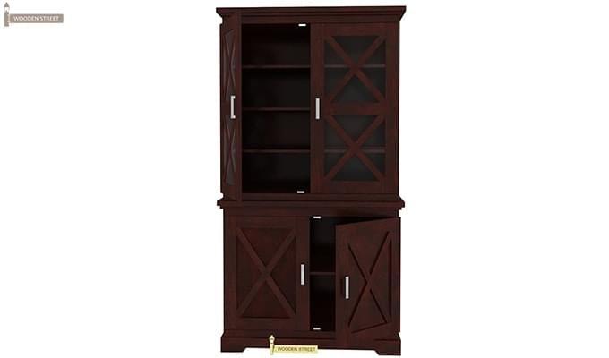 Loren Kitchen Cabinets (Mahogany Finish)-7