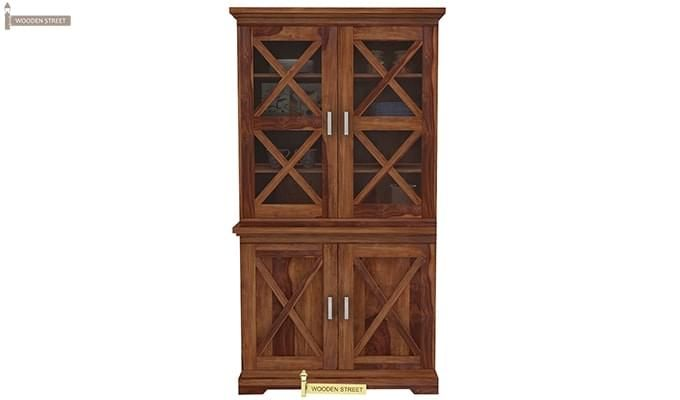 Loren Kitchen Cabinets (Teak Finish)-1