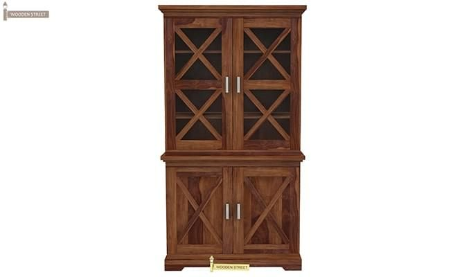 Loren Kitchen Cabinets (Teak Finish)-5