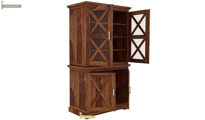 Loren Kitchen Cabinets (Teak Finish)-6