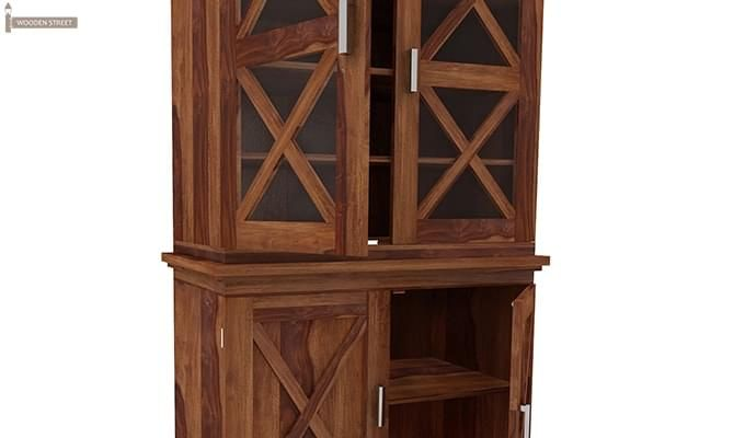 Loren Kitchen Cabinets (Teak Finish)-8