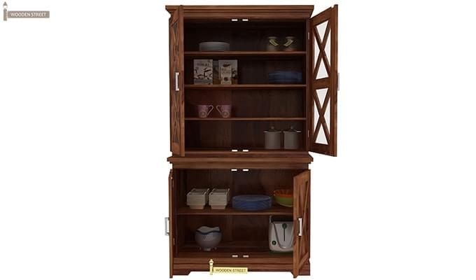 Loren Kitchen Cabinets (Teak Finish)-9