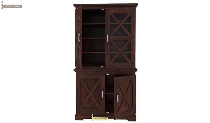 Loren Kitchen Cabinets (Walnut Finish)-6