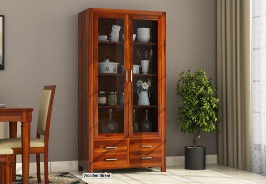 16 Best Wooden Kitchen Wardrobe Designs | Wooden Street