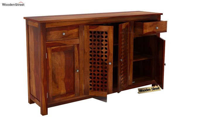 Mendes Sideboard (Honey Finish)-4