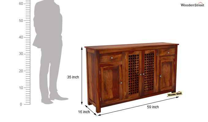 Mendes Sideboard (Honey Finish)-6