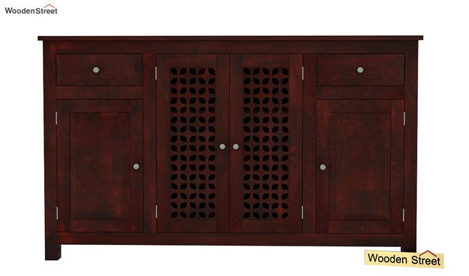 Mendes Sideboard (Mahogany Finish)-2