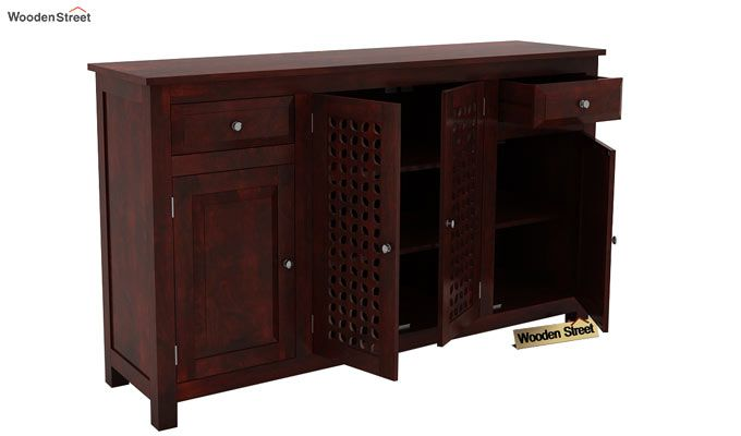 Mendes Sideboard (Mahogany Finish)-3
