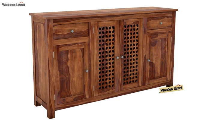Mendes Sideboard (Teak Finish)-1
