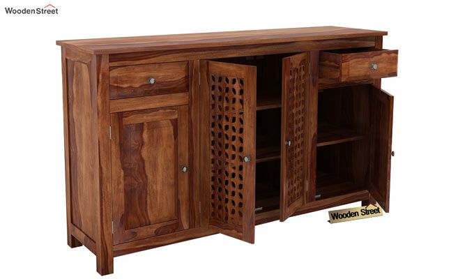 Mendes Sideboard (Teak Finish)-3