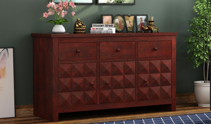 Morse Sideboard (Mahogany Finish)-1