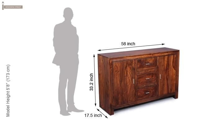 Paprika Sideboard (Honey Finish)-8