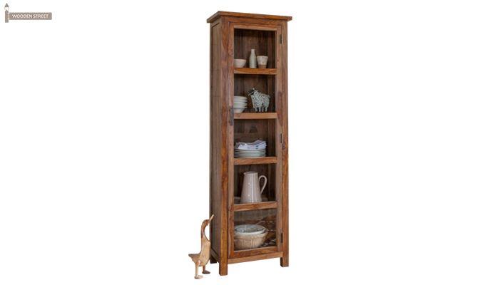 Prima Kitchen Cabinet (Teak Finish)-1