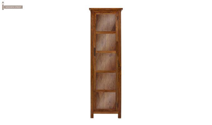 Prima Kitchen Cabinet (Teak Finish)-2