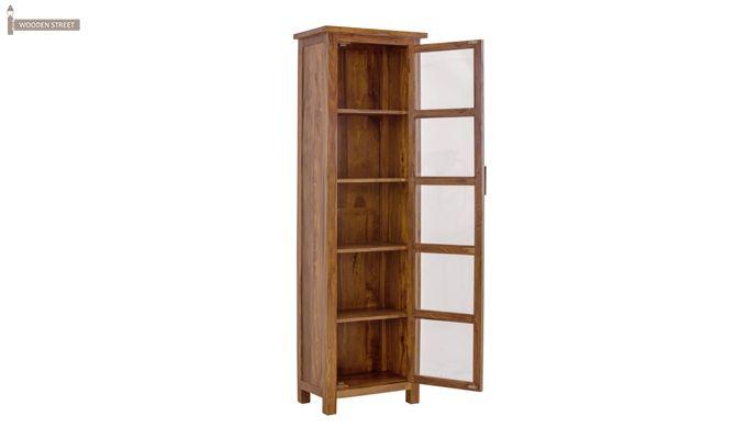 Prima Kitchen Cabinet (Teak Finish)-3