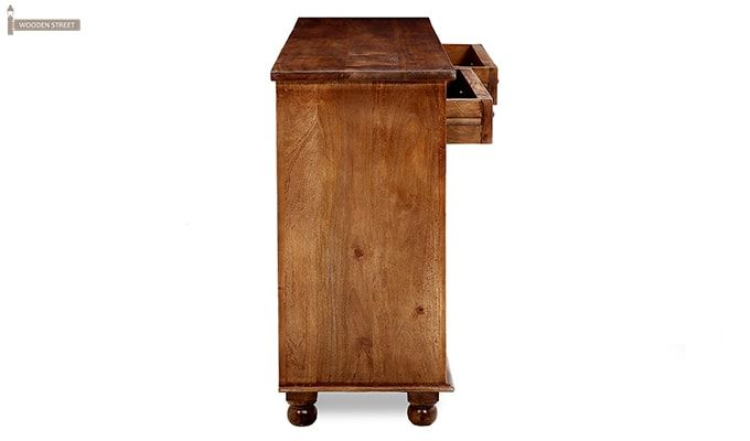 Pryce Kitchen Cabinets (Light Teak Finish)-5