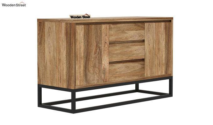 Ray Loft Three Drawer Sideboard (Natural Finish)-3