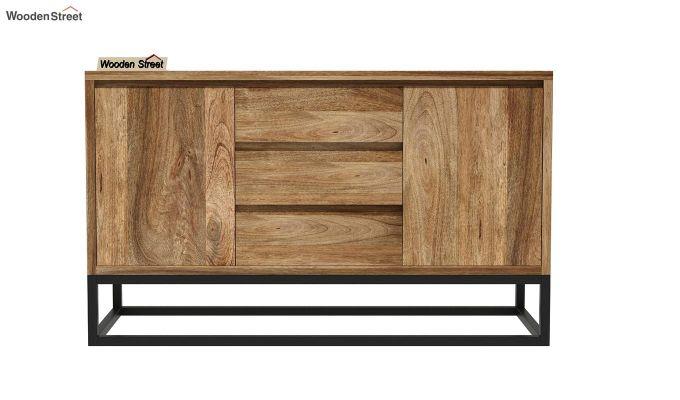 Ray Loft Three Drawer Sideboard (Natural Finish)-4