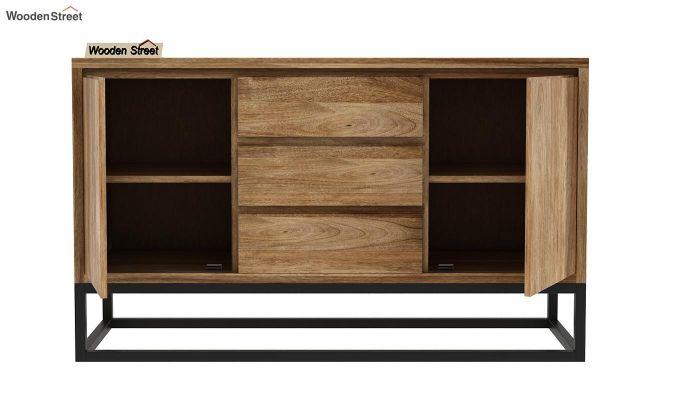 Ray Loft Three Drawer Sideboard (Natural Finish)-5