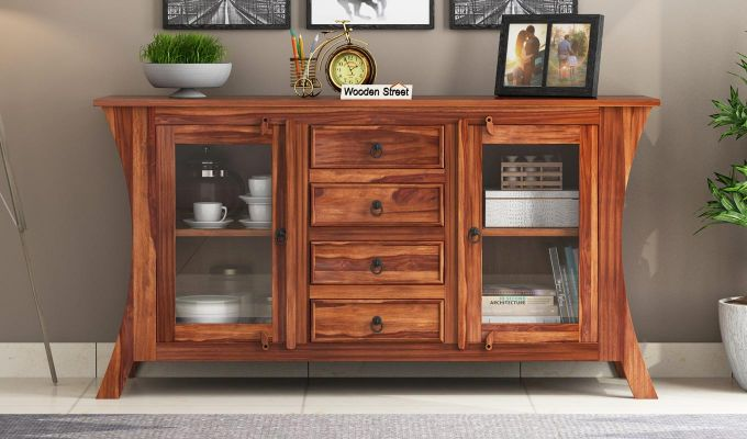 Reveka Sideboard (Teak Finish)-2