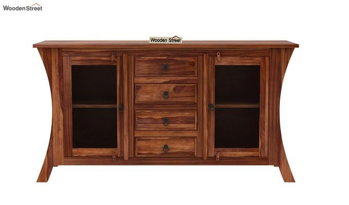 Reveka Sideboard (Teak Finish)-4