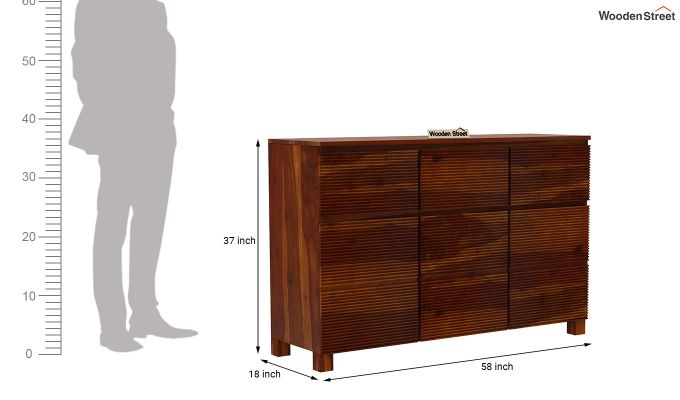 Roger Sideboard (Honey Finish)-7