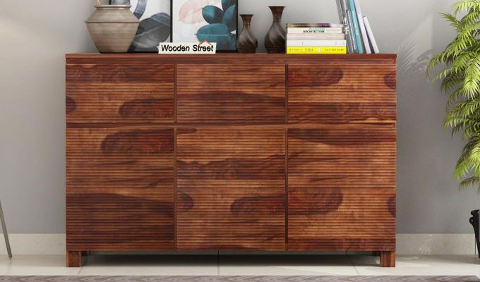Roger Sideboard (Teak Finish)-2
