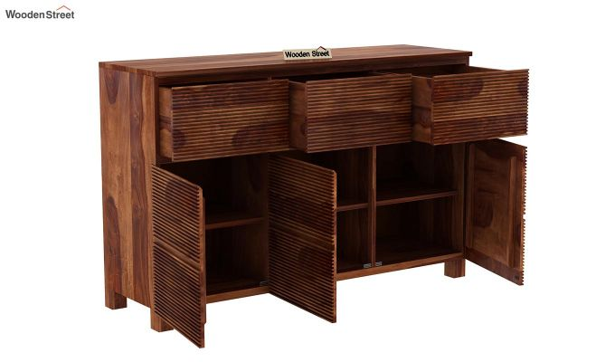 Roger Sideboard (Teak Finish)-5