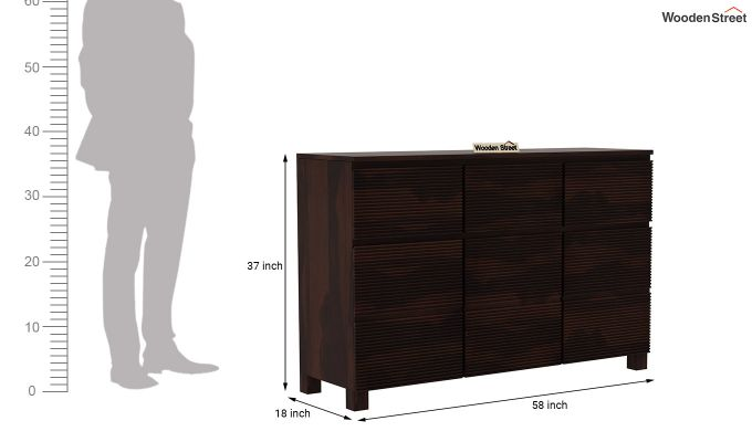 Roger Sideboard (Walnut Finish)-7