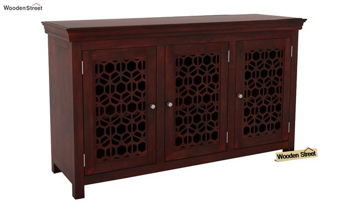 Triton Sideboard (Mahogany Finish)-1