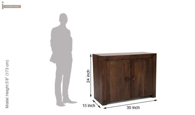 Benat Sideboard (Walnut Finish)-12