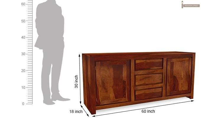 Warrican Sideboard (Honey Finish)-7