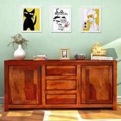 Warrican Sideboard (Honey Finish)