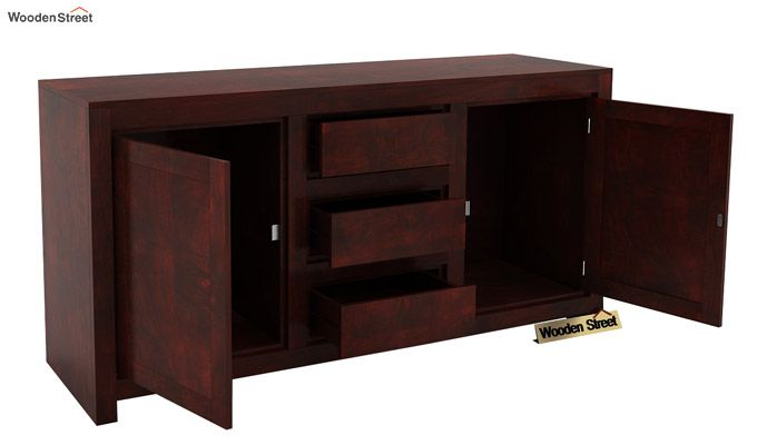 Warrican Sideboard (Mahogany Finish)-3
