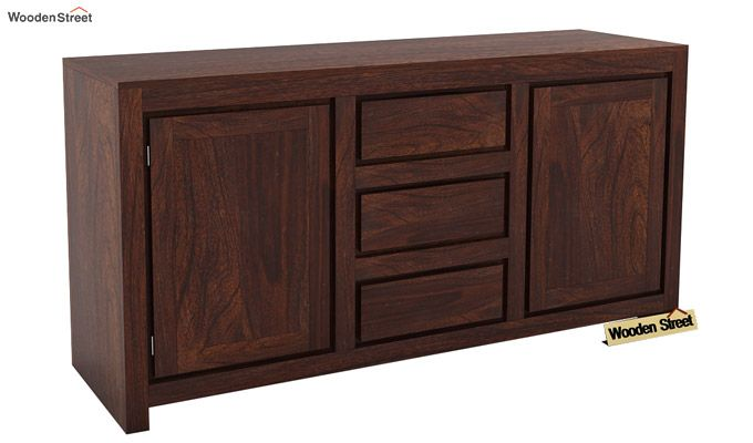 Warrican Sideboard (Walnut Finish)-1