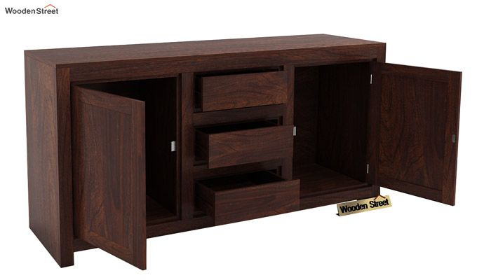 Warrican Sideboard (Walnut Finish)-3