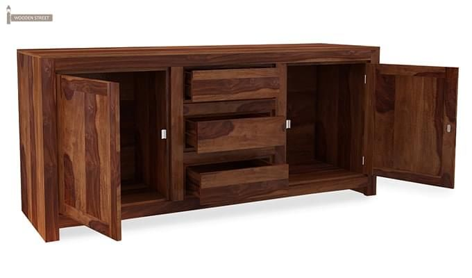Warrican Sideboard (Teak Finish)-3